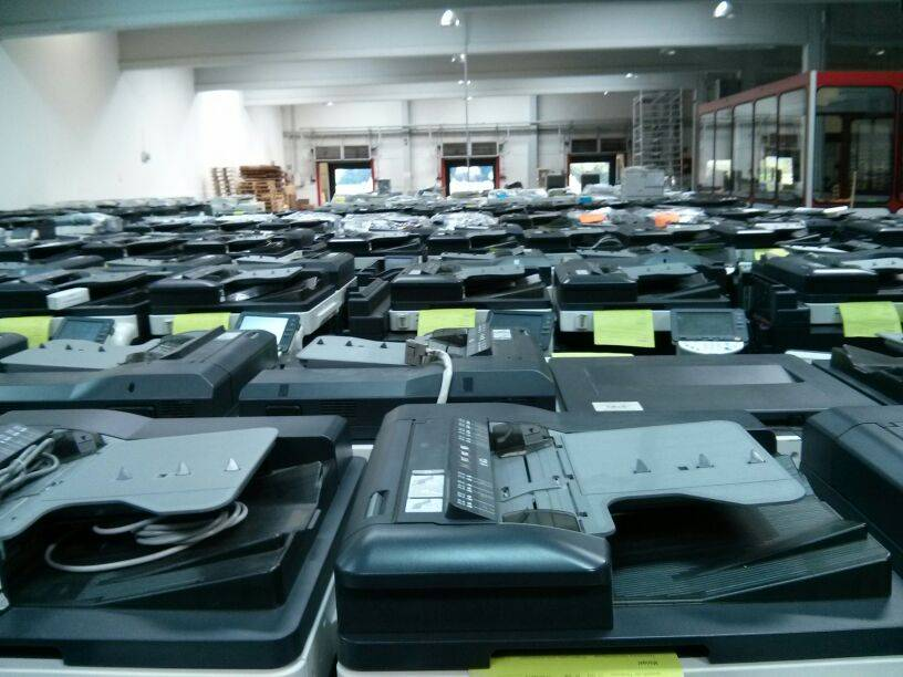 Konica Minolta Used Copiers from Germany. All 100% working / MOQ 10pcs