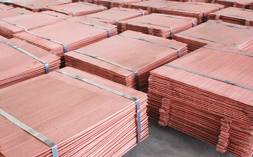 Looking for copper cathodes 99.97%~99.99% to China