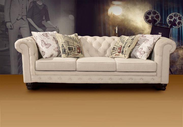 American Style Fabric Sofa Manufacture Sofa Wholesale