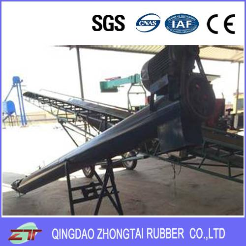 EP Sandwich Heat Resistant Rubber Conveyor Belt