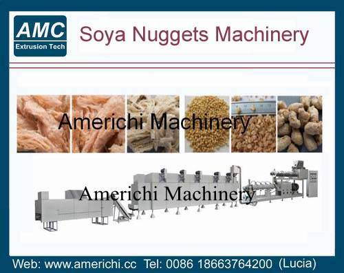 Soya nuggets machines