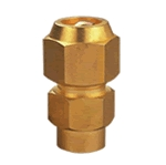 Brass Flare & Solder Union with Nut