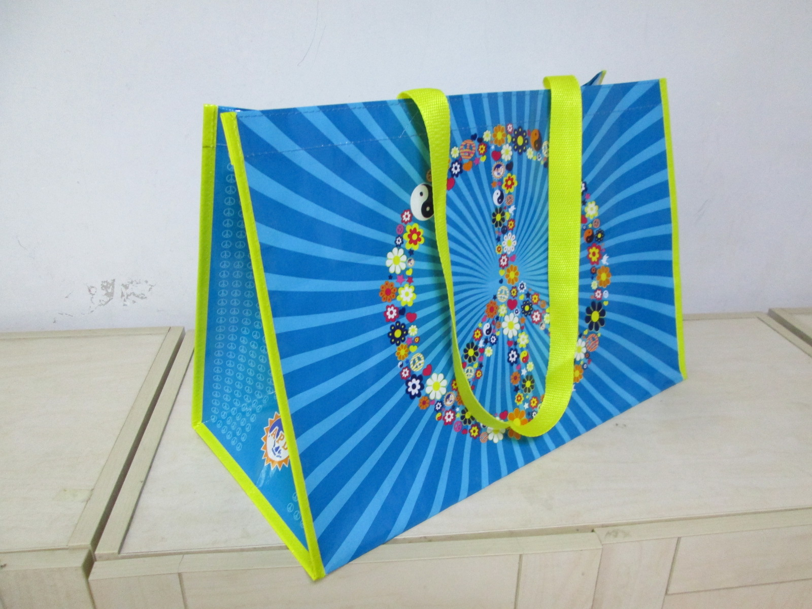 China factory high quality PP woven shopping advertising promotional Bag