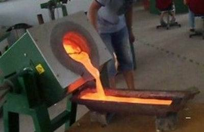 Small Size Induction Melting Furnace