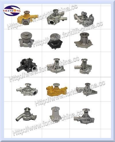 Forklift Parts Water Pump Supplier