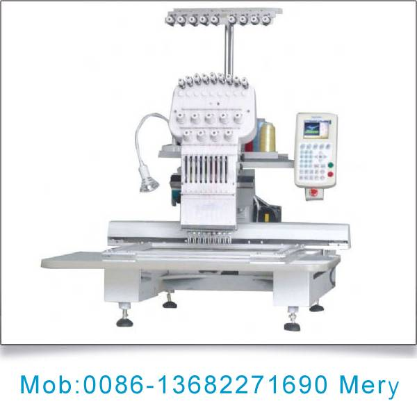 Single head embroidery machine for sale