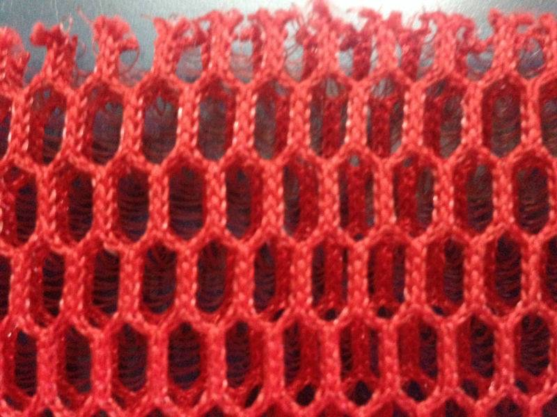 100% polyester 3D air mesh fabric/spacer mesh fabric