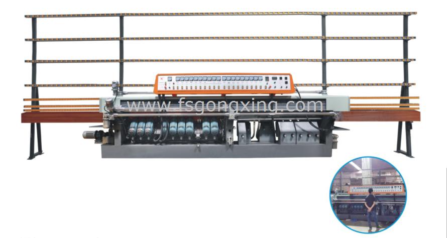 Glass Beveling Edging Machine Model GXM919AP