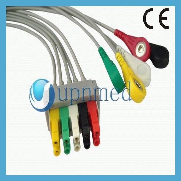 Pro1000 5 lead ECG cable