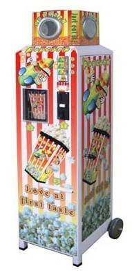 Coin-Operated Popcorn Vending Machine (CVE-7500)