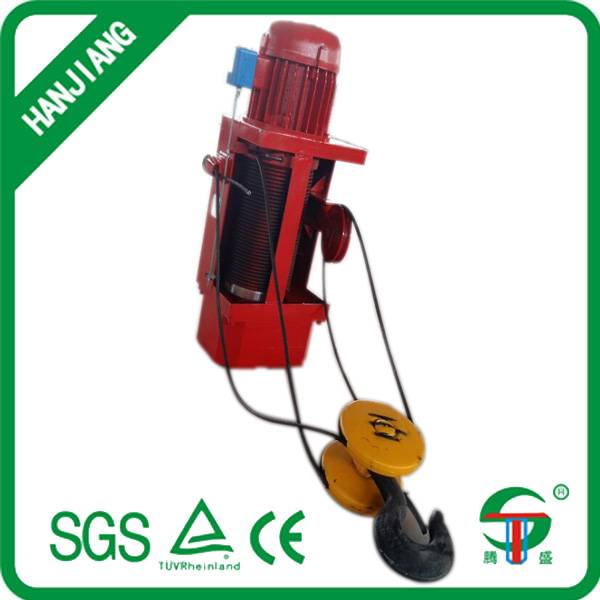 Small wire rope electric hoists