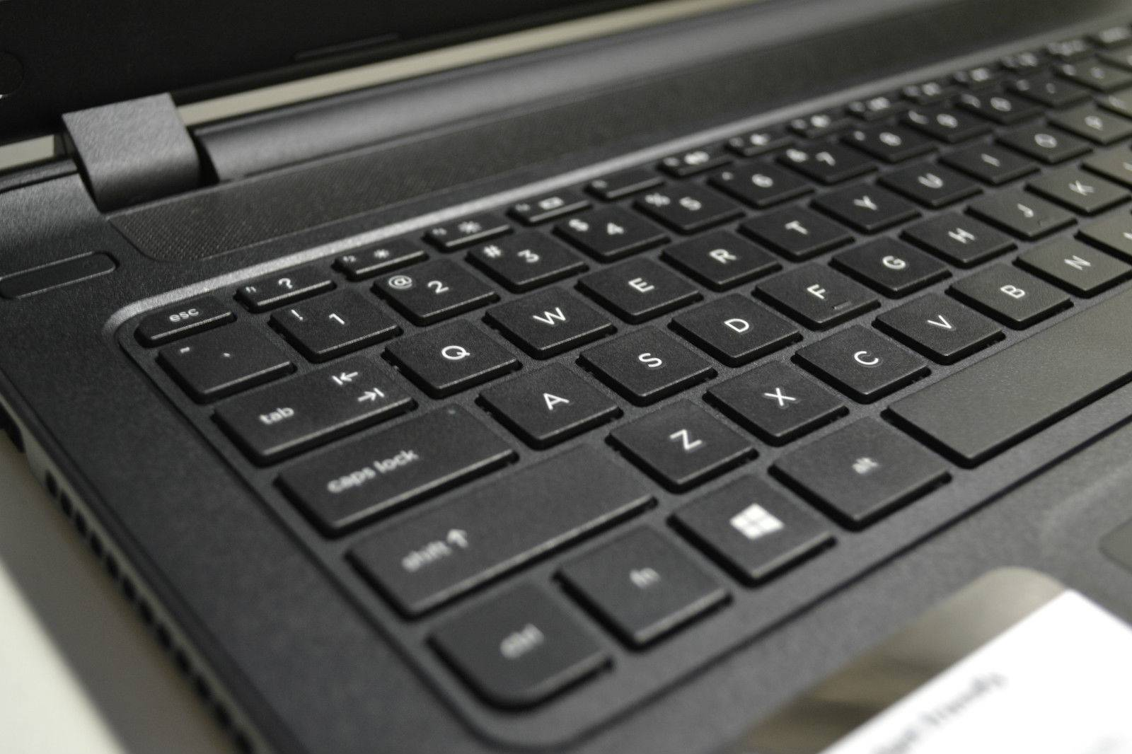 HP Black 15.6 Intel Dual Core 4GB 500GB