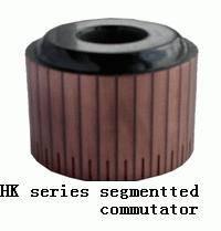 Segmentted commutator