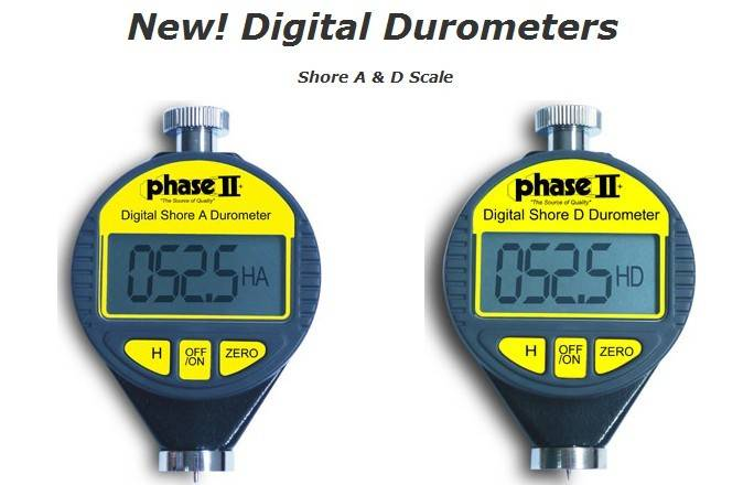 Shore A&D Durometer PHT-960& PHT-980