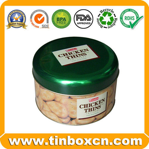 Sell cookies tin,biscuit tin,snack tin,food tin box,tin can,metal can