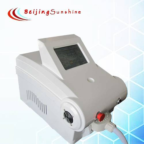 Portable fashion E-light beauty machine for skin rejuvenation,skin tighting,hair removal,acne remova