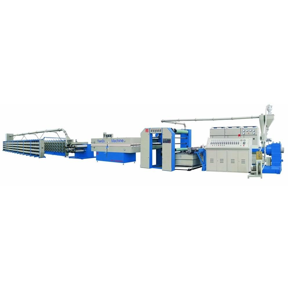 High Speed PP/HDPE Flat Yarn Extrusion and Stretching Line