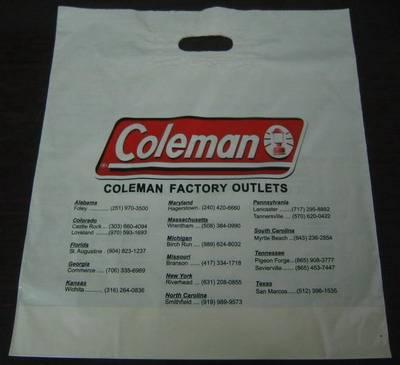 LDPE Printed Plastic shopping Bag