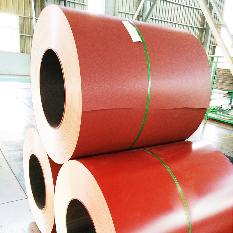 Matt Red PPGI/PPGL Steel Coils for Roofing Sheet