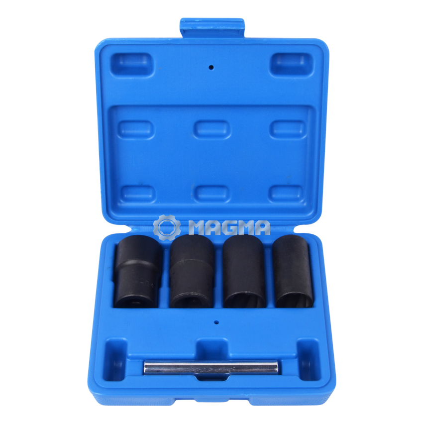"5 PCS 1/2"" Drive Impact Twist Socket Set (MG50927)"