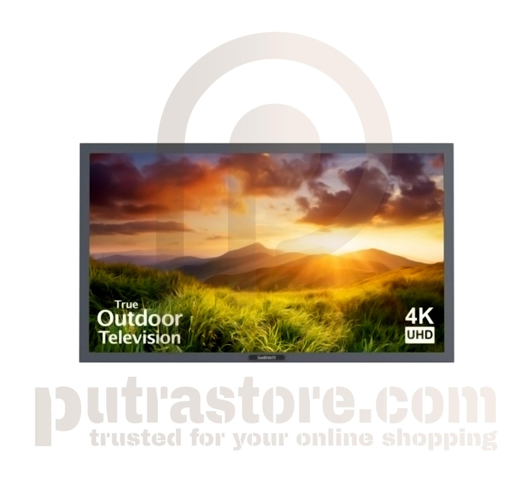 "SunBriteTV 75"" Silver Signature Outdoor 4K LED TV"