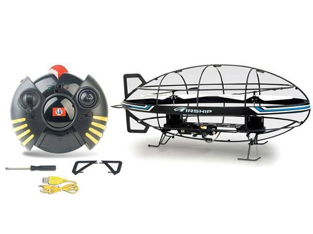 3ch gyro helicopter remote airship Flying rc UFO