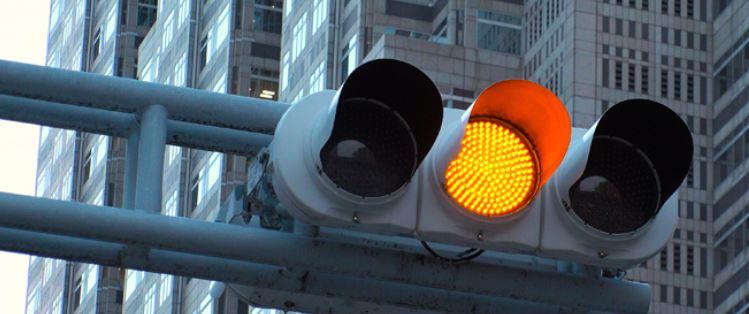 Traffic signal LED light