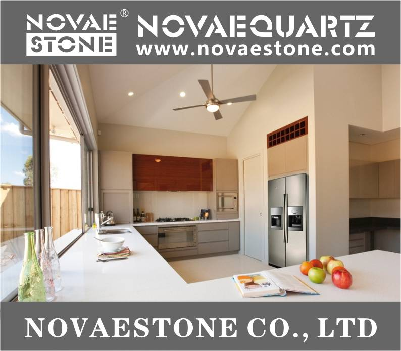 NV601 Snow White Quartz Stone, White quartz, quartz countertops