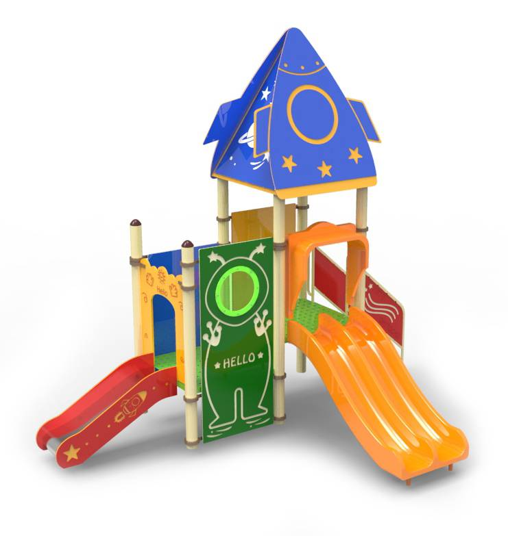 PLO-Space1002/Outdoor Kids Playground equipment