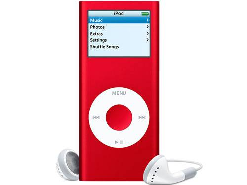 Apple iPod nano (PRODUCT) RED Special Edition (4GB)