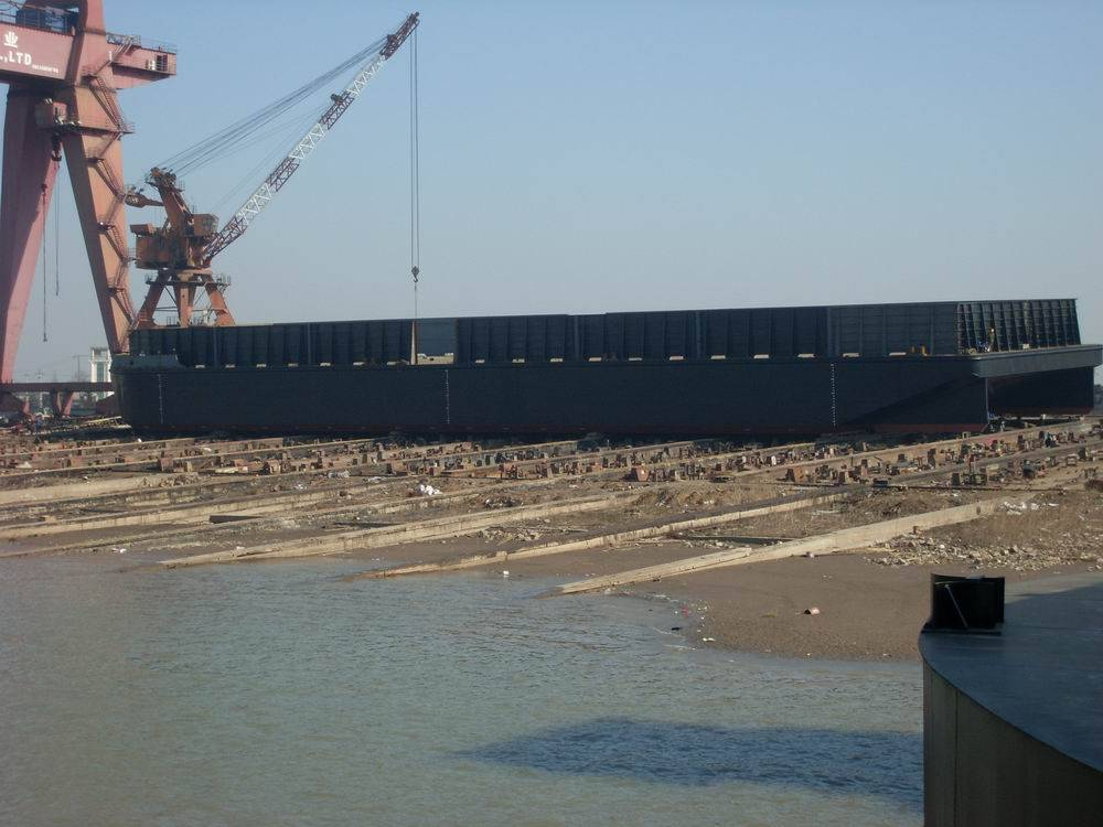 7800dwt non-propelled deck barge