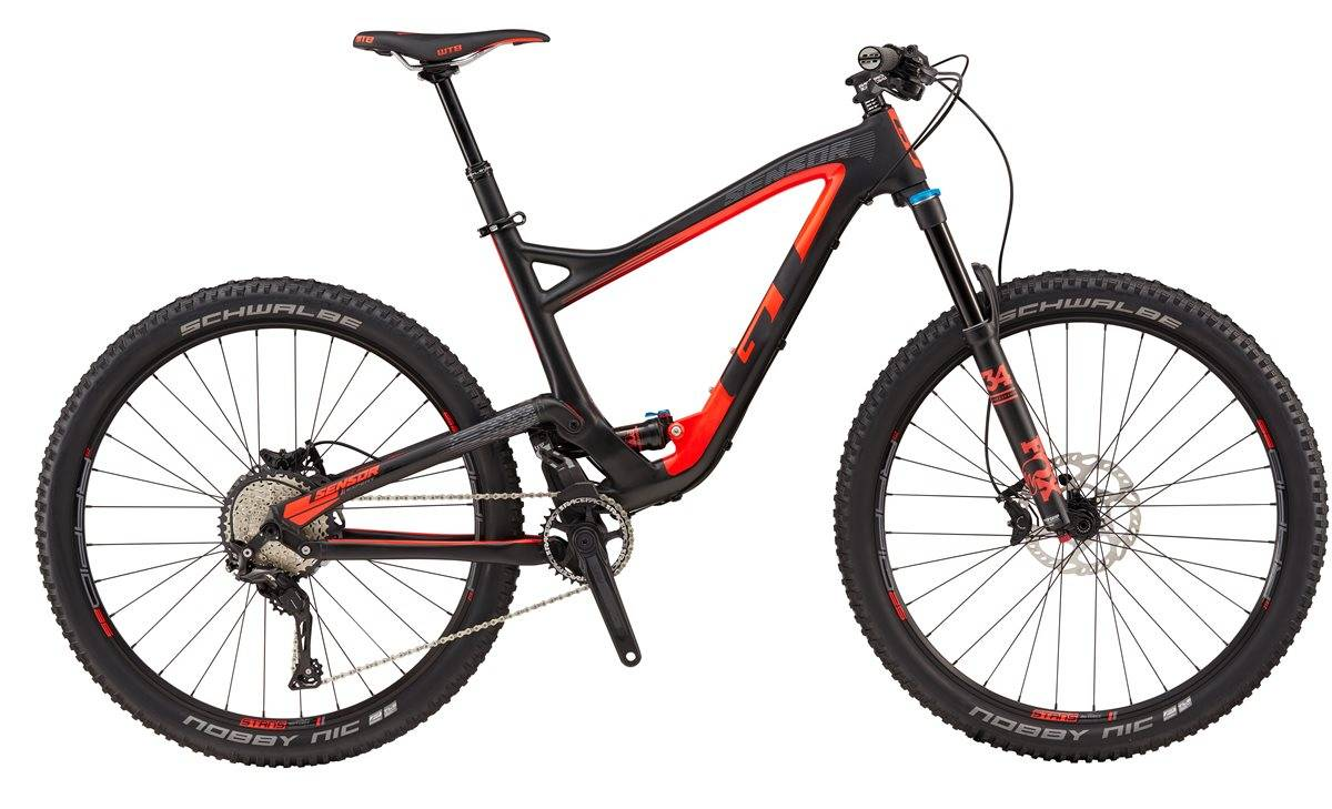 GT Sensor Carbon Expert Mountain Bike 2017 - Full Suspension MTB