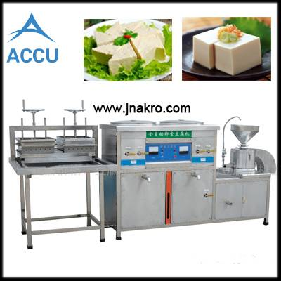 Electricity soya bean tofo curd making machine