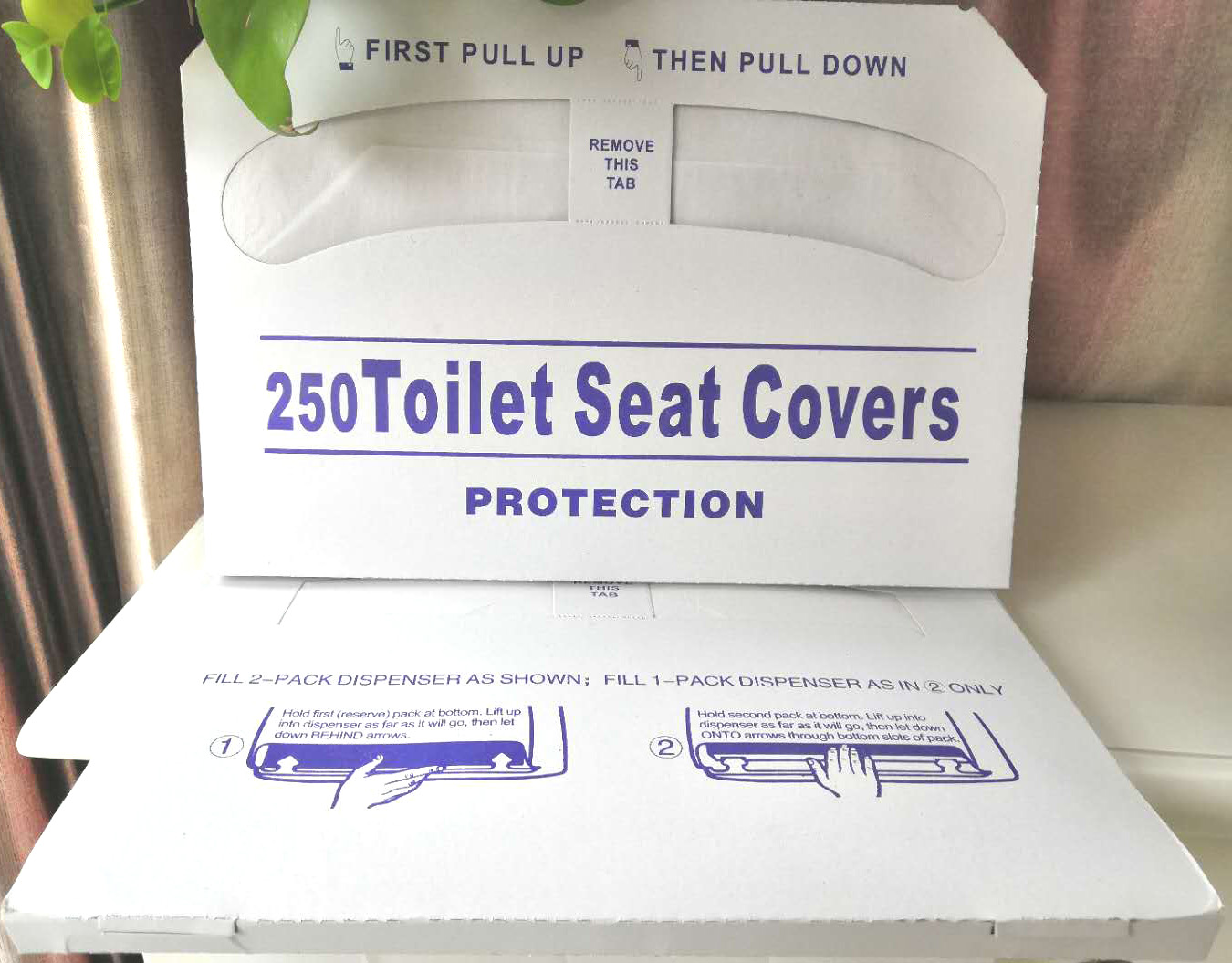1/2 Fold Toilet Seat cover paper