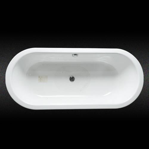 Steel enamel bathtub