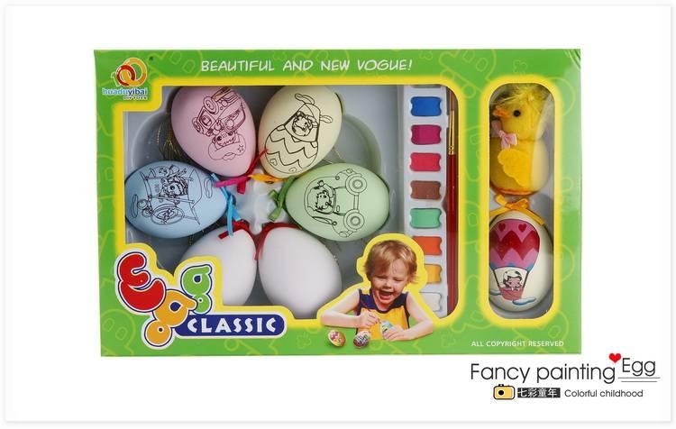 education painting egg, DIY toys, painting egg