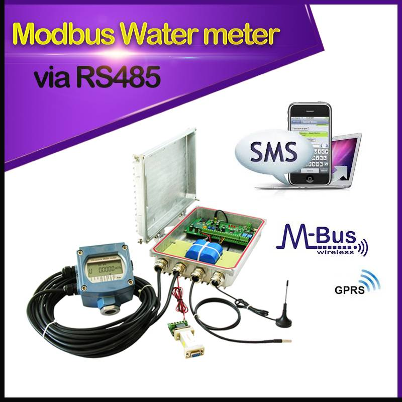 Water Meter GPRS Data Logger