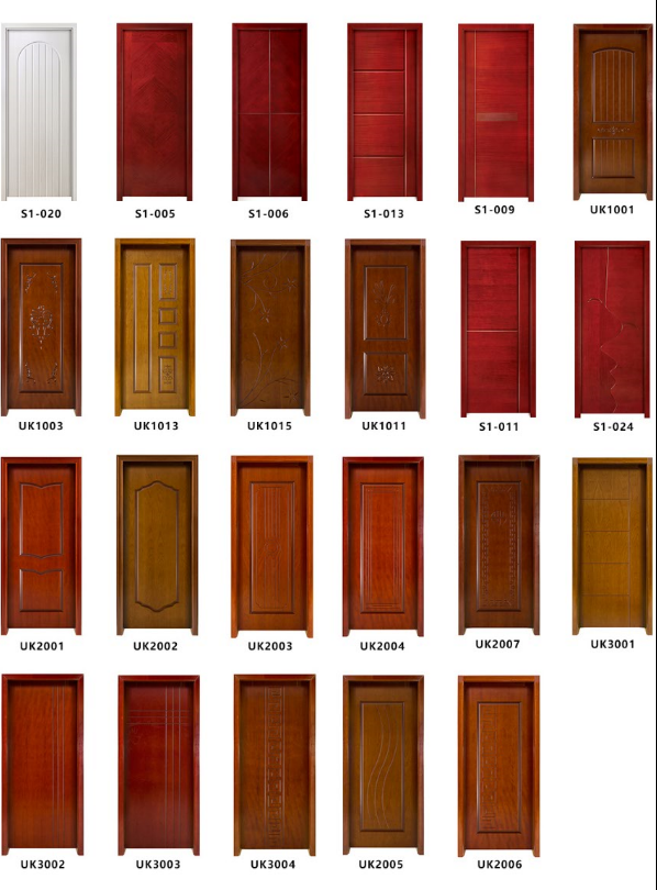 HONMAX diverse styles design interior wood door for sale