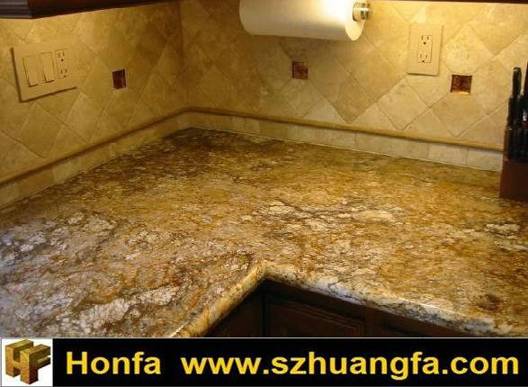 Hot Golden Beach Granite Countertop