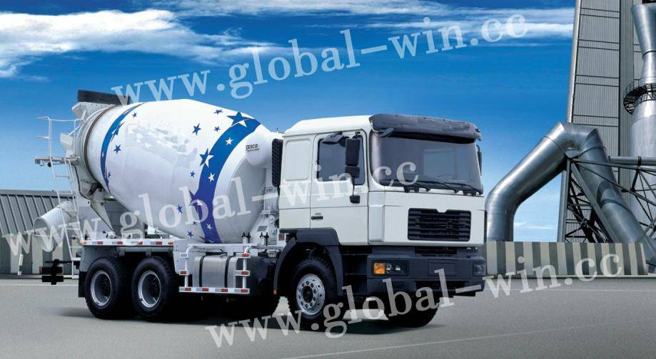 GW5250GJB Cement Mixer Truck (Hino Power III)