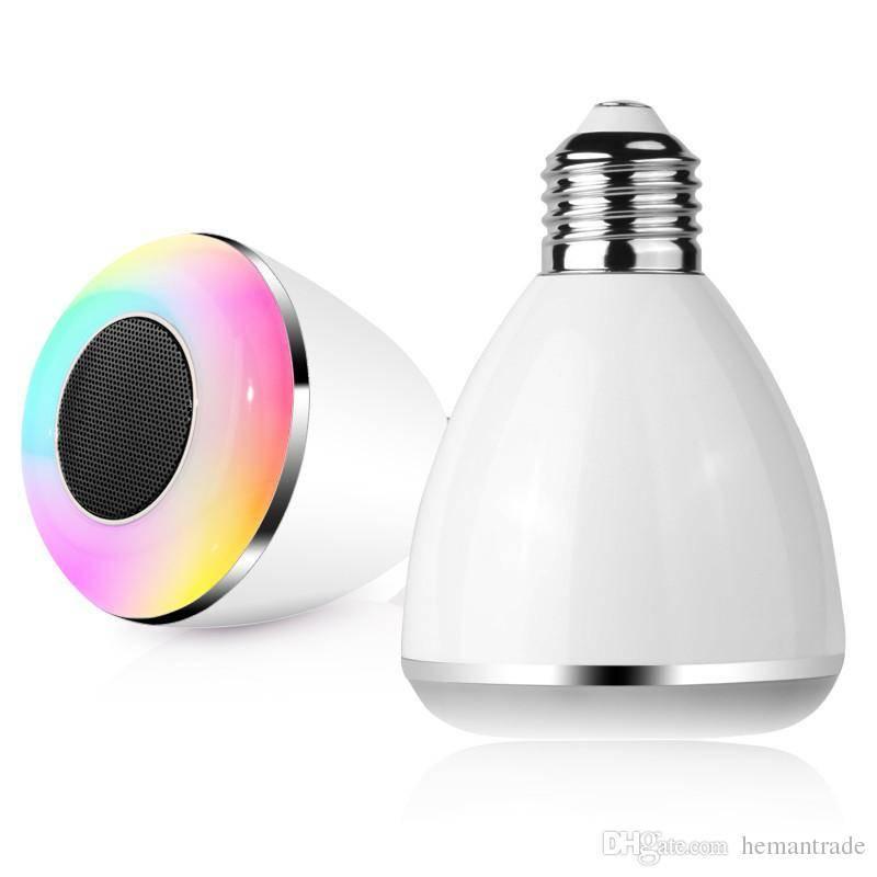 Wireless Bluetooth 4.0 Speaker E27 Smart LED Bulb Speaker BL08A Multifunctional BL08A 6W