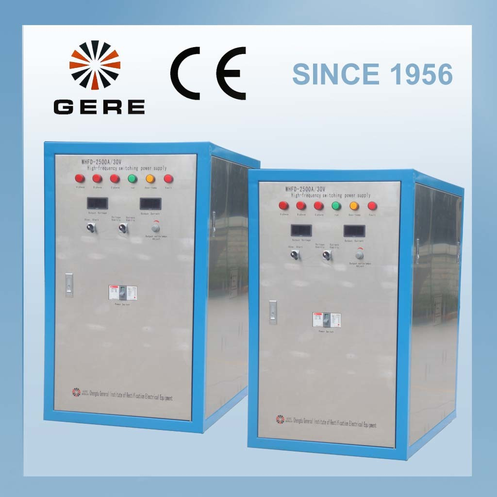 Electro Oxidation Rectifier for Aluminum Parts