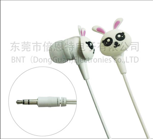 cute earphone for promotion gift