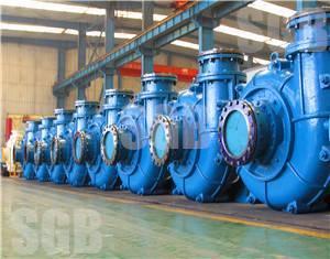 Horizontal Industrial Centrifugal Slurry Pump