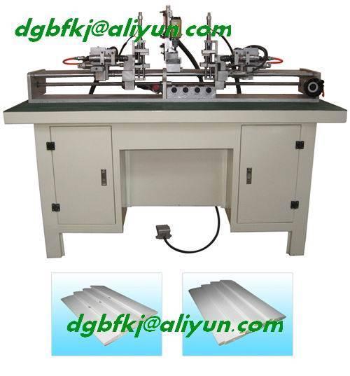 wooden shutter machine