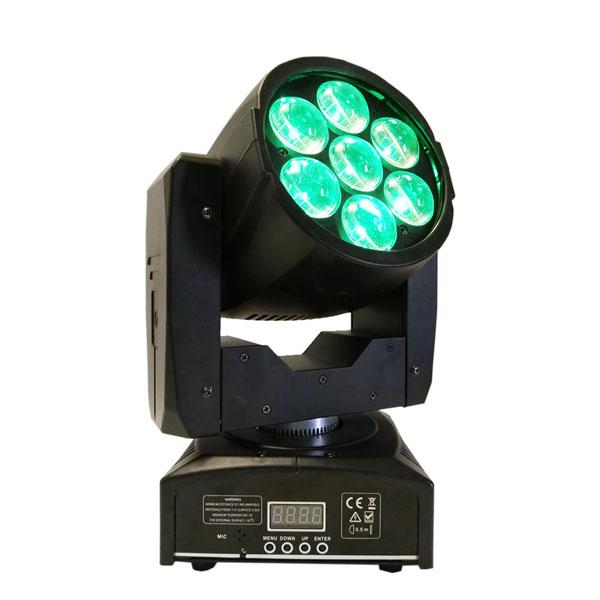 712W LED Mini Wash With Zoom