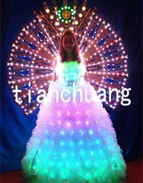 LED Dress LED Light Dress LED Wedding Dress