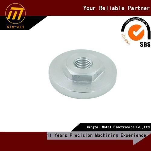 custom precision cnc machining aluminum special nut