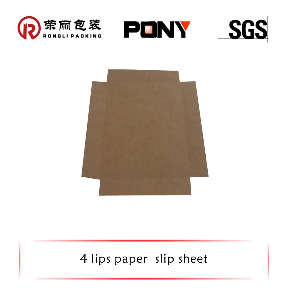 slip sheet in packaging paper space savings
