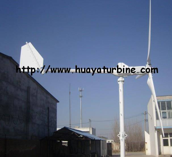 5kw pitch controlled wind turbine